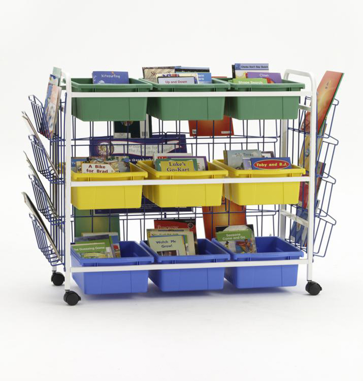 Leveled Reading Book Browser with Book Displayers and Tub Pack #1