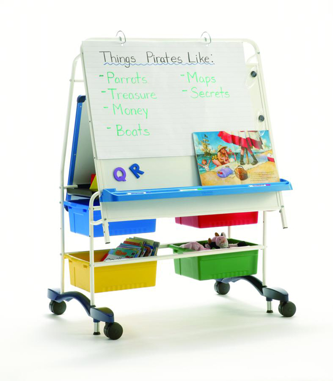 Queen Royal Reading Writing Center with Standard Tub Pack