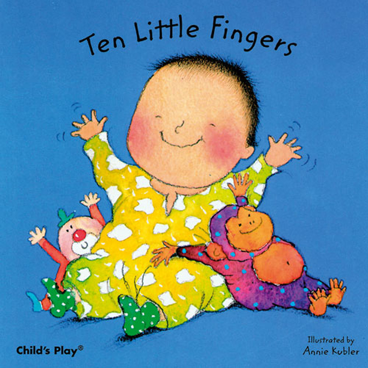 Ten Little Fingers - Board Book