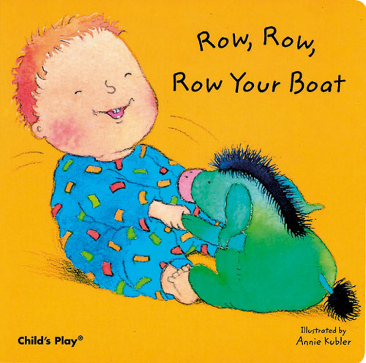 Row, Row, Row Your Boat - Board Book