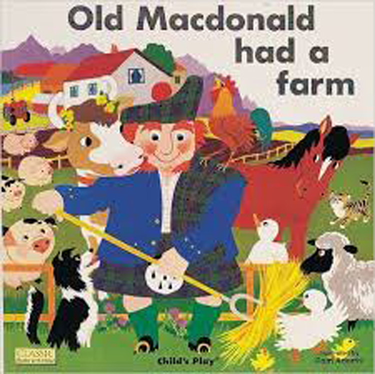 Old Macdonald Had A Farm Classic Board Book with Holes