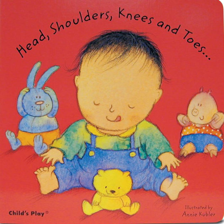 Nursery Rhyme Head, Shoulders, Knees and Toes - Board Book
