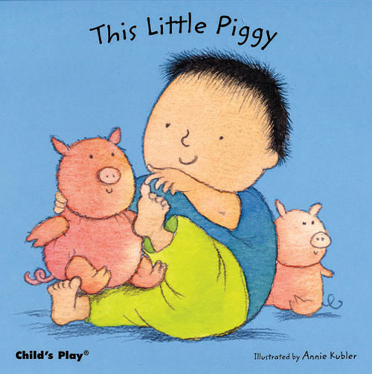 This Little Piggy - Board Book