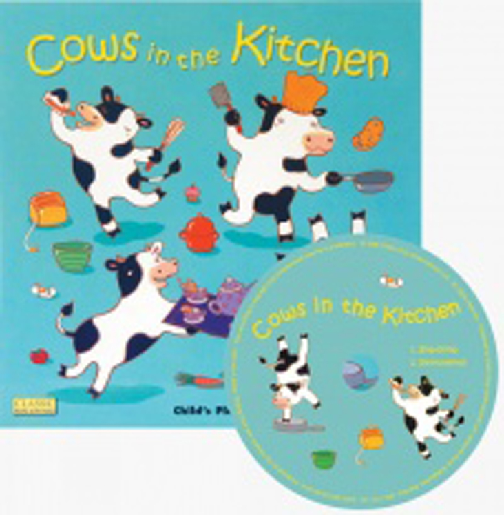 Cows in the Kitchen Classic Books with Holes & CD Soft Cover
