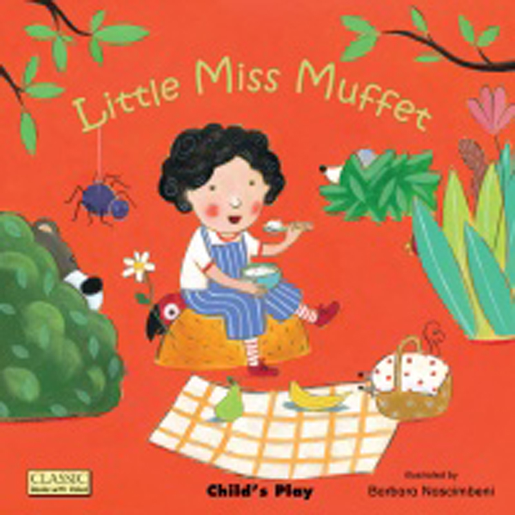 Little Miss Muffet Classic Board Book with Holes