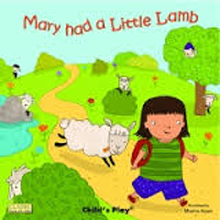 Mary had a Little Lamb Classic - Board Book with Holes