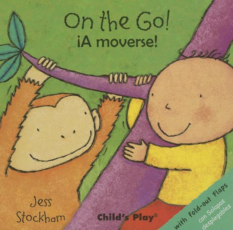 On the Go! - English/Spanish Bilingual - Board Book