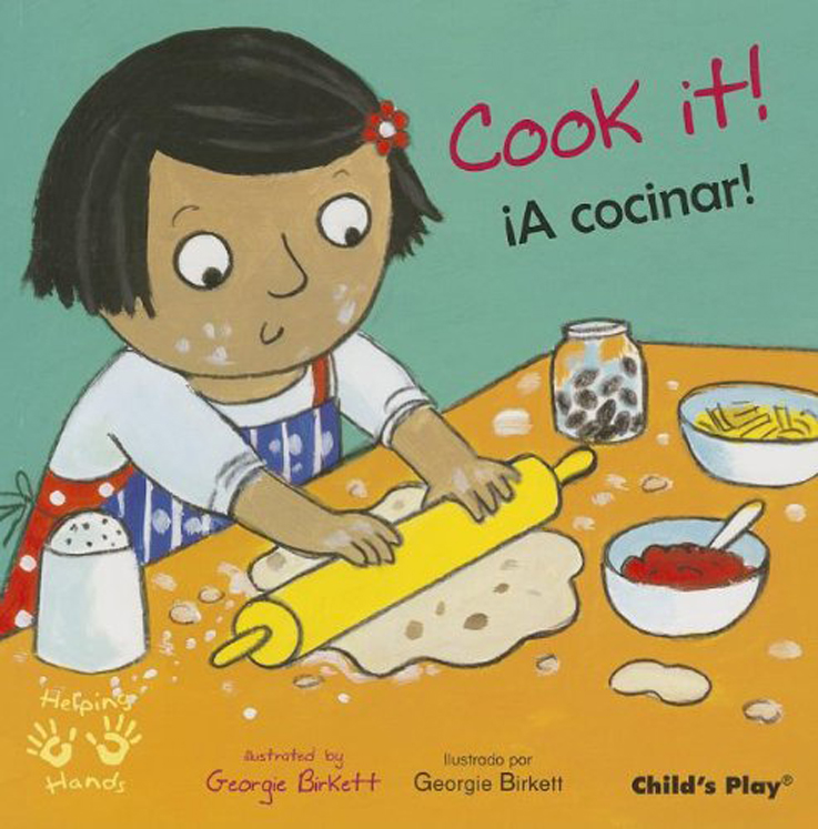Cook It! - English/Spanish Bilingual - Board Book