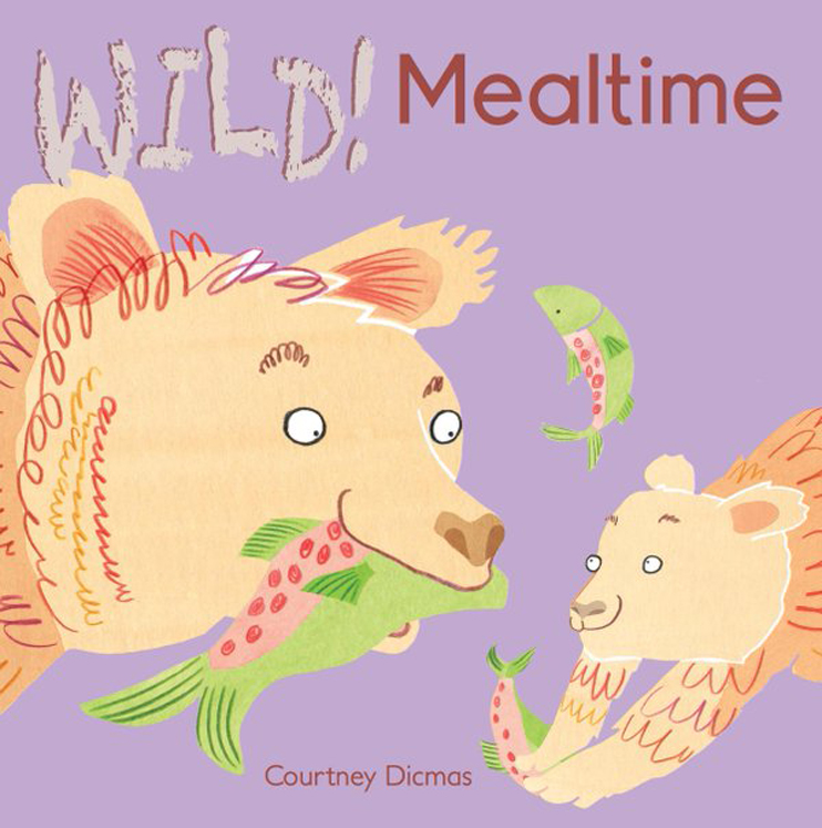WILD! Mealtime - English/Spanish Bilingual - Board Book