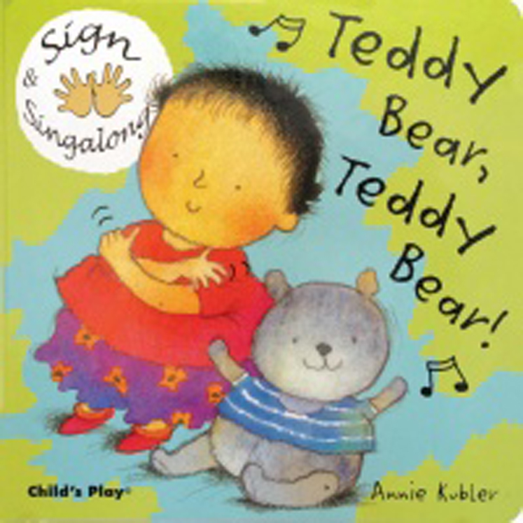 Teddy Bear, Teddy Bear Sign & Singalong - Board Book