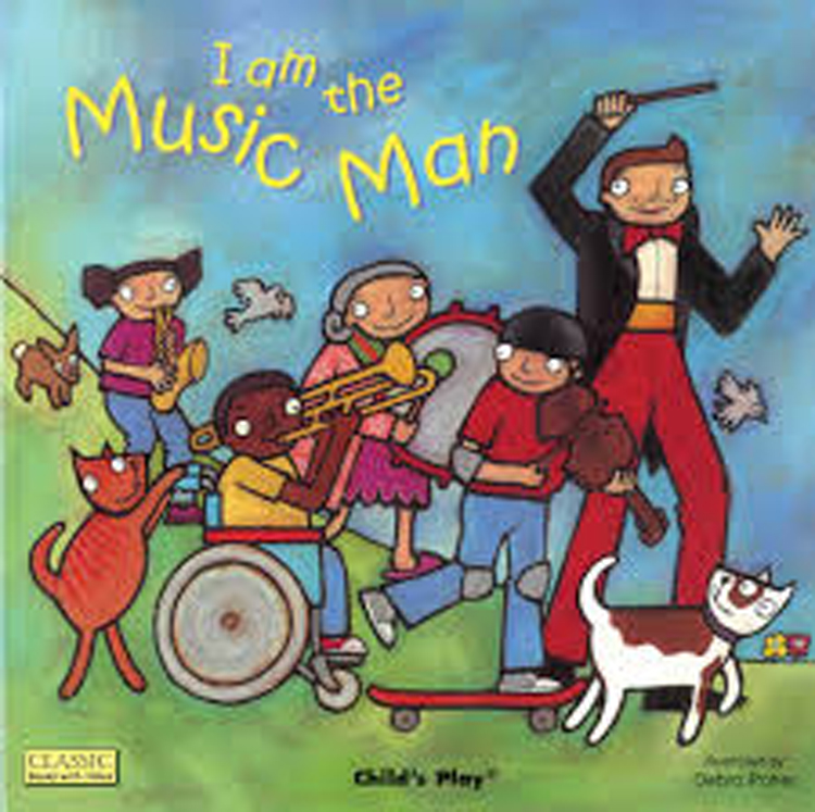 I am the Music Man Classic Board Book with Holes