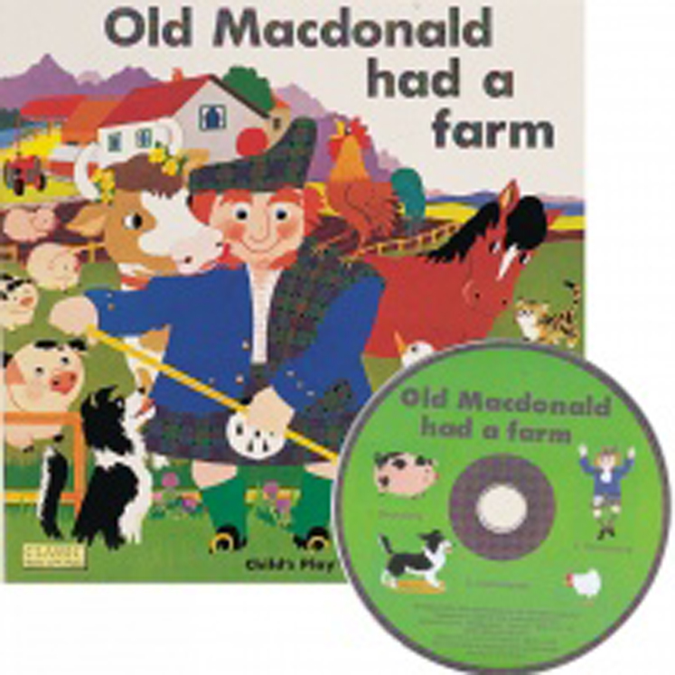 Old Macdonald Had A Farm Classic Books With Holes & CD Soft Cover