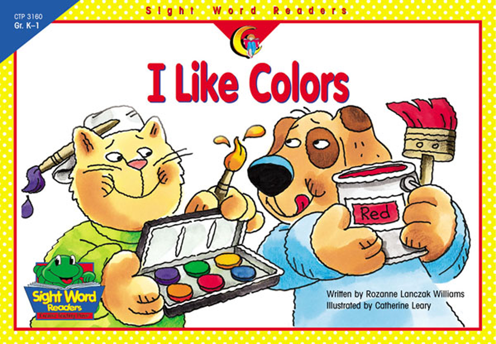 I Like Colors - Sight Word Readers