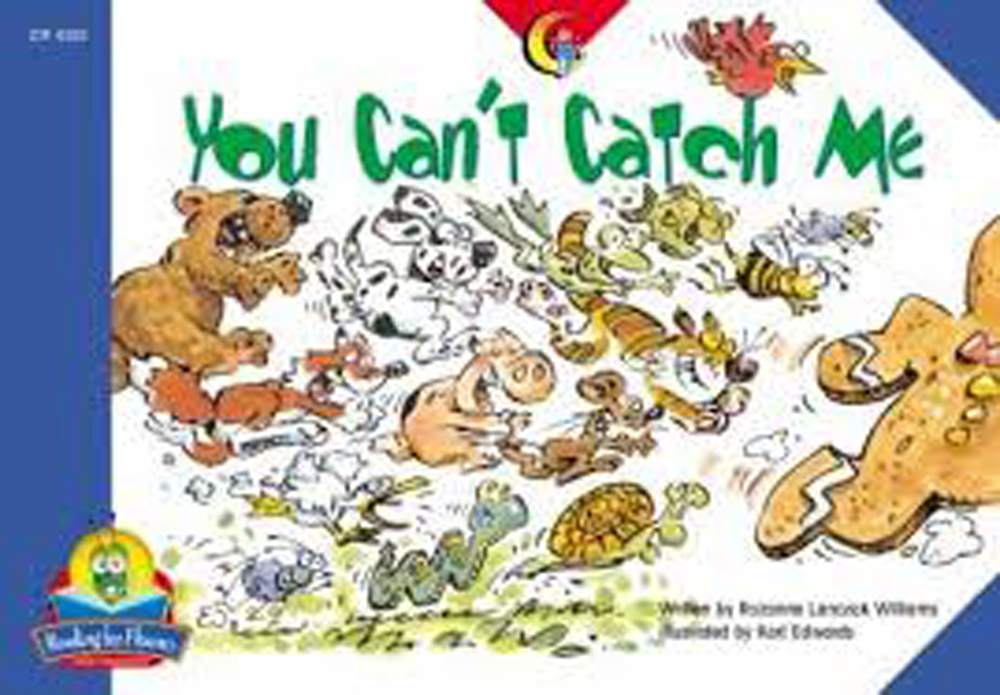You Can't Catch Me Book