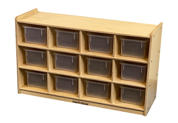 Value line Cubbies for 12 without trays, 24