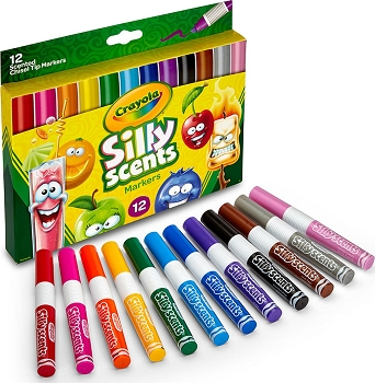 Silly Scents Chisel Tip Markers - 12 Count
