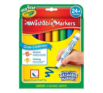 My First Crayola Washable Markers - Set of 8