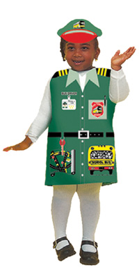 Bus Driver Costume