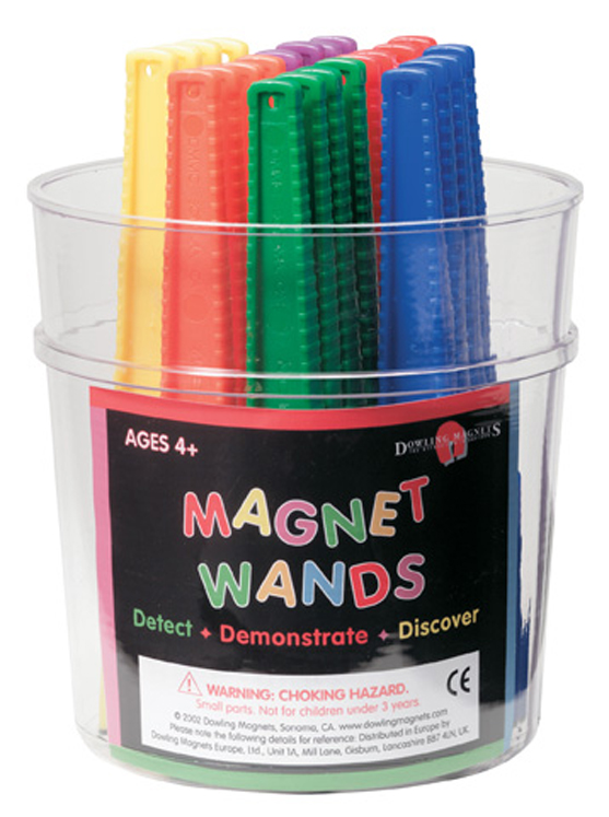 Magnet Wands - Assorted Wands - Class Pack of 24