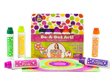 Do-A-Dot Neon Markers - 5 Pack