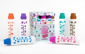 Do-A-Dot Ice Cream Dreams Scented Markers - 6 Pack