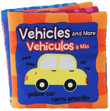 Vehicles Bilingual Cloth Book