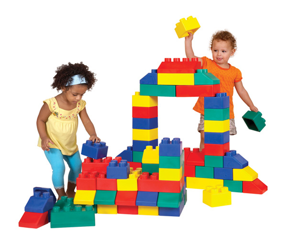 Edu Blocks - 50-Piece Set