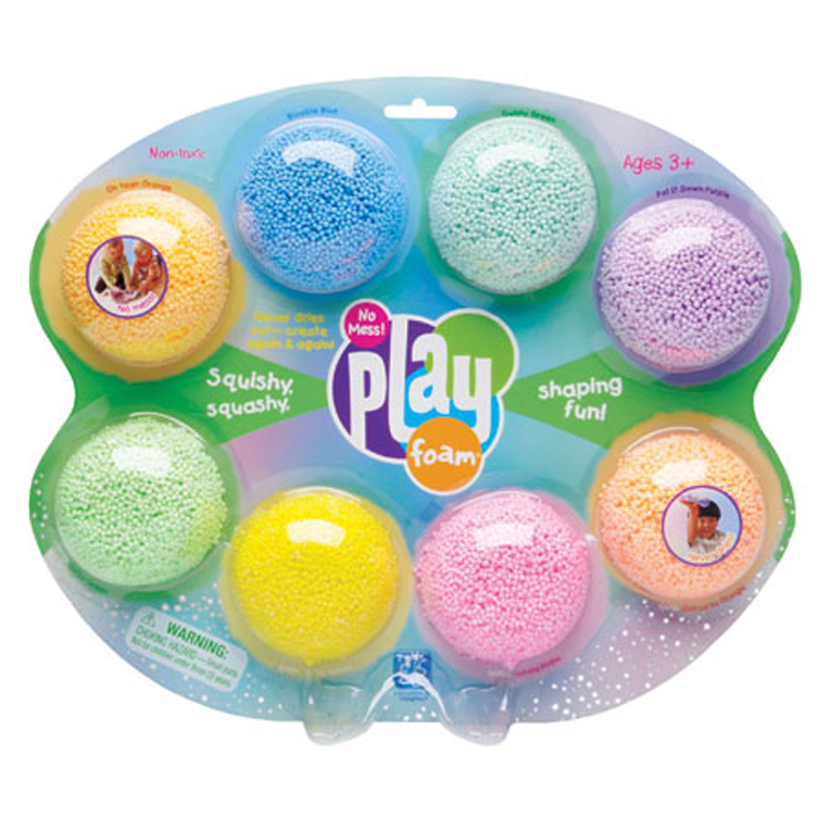 No-Mess PlayFoam - 8 Pack