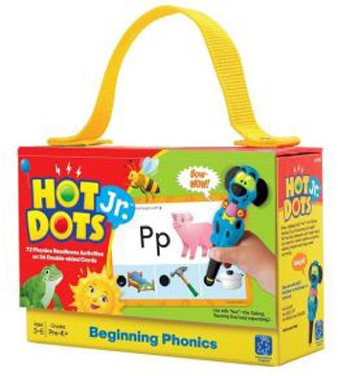 Hot Dots Jr. Beginning Phonics Card Set