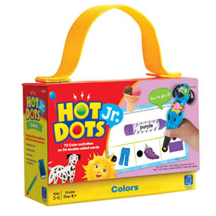 Hot Dots  Jr. Cards: Colors Card Set