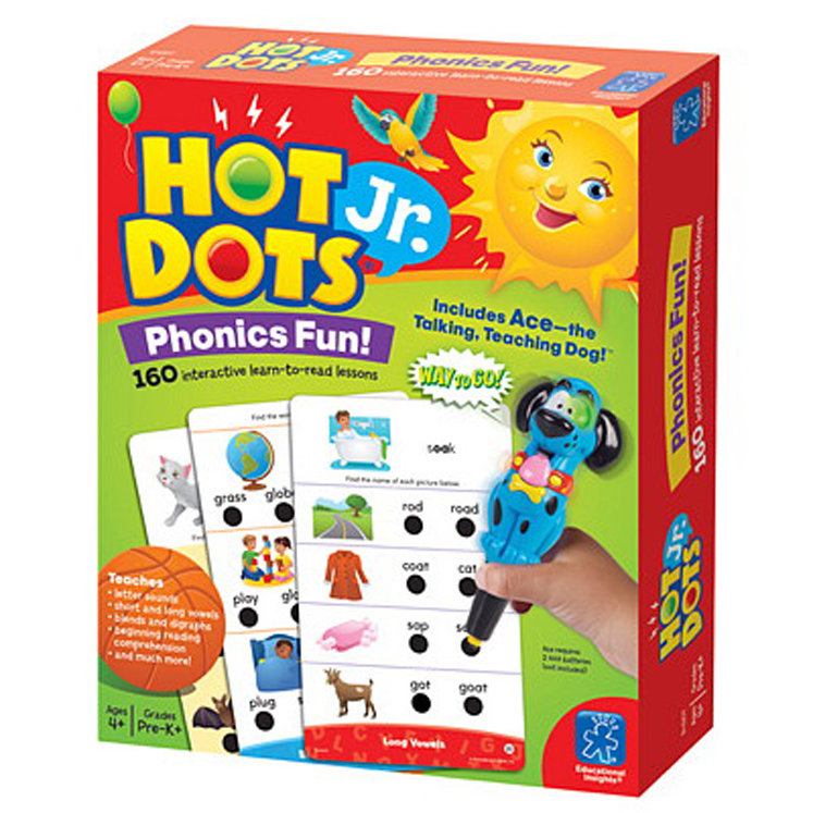 Hot Dots Jr. Phonics Fun Kit