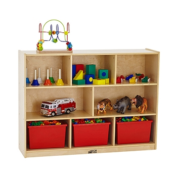 8 Compartment Divided Storage Cabinet - 36