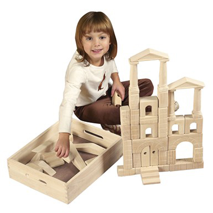 Architectural Blocks with Carry Case - 48 Piece