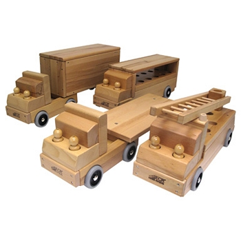Transportation Vehicles - Set of 4