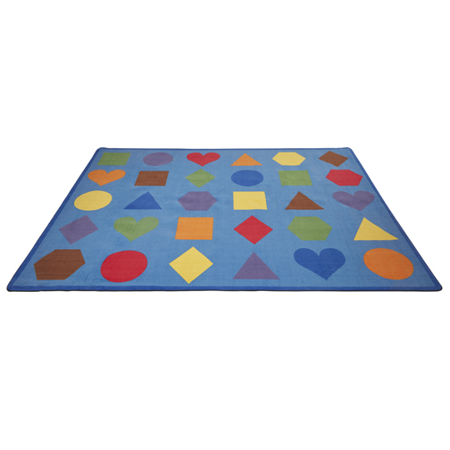 Lots of Shapes - Seating Rug