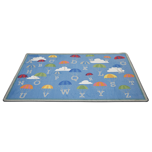 P is for Parachute Alphabet - Activity Rug