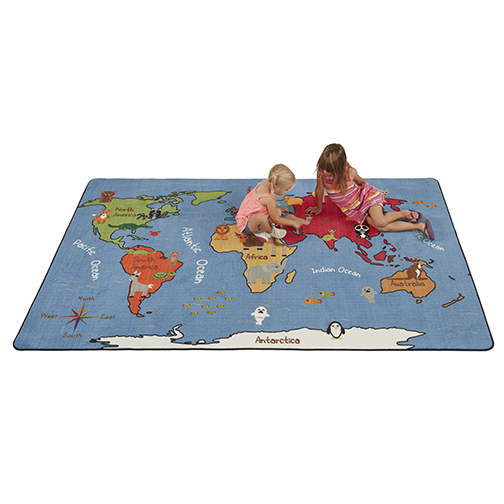 Animals of the World - Activity Rug