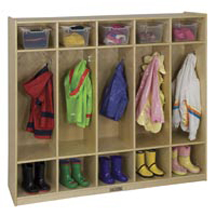 5-Section Coat Lockers