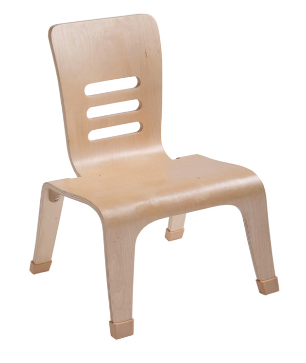 Bentwood Low & Wide Teachers Chairs - Set of 2