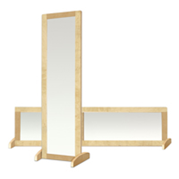 Bi-Directional 2-Sided Mirror