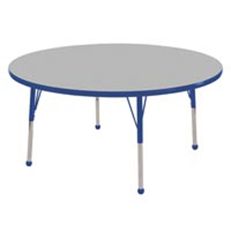 Adjustable Round Activity Table