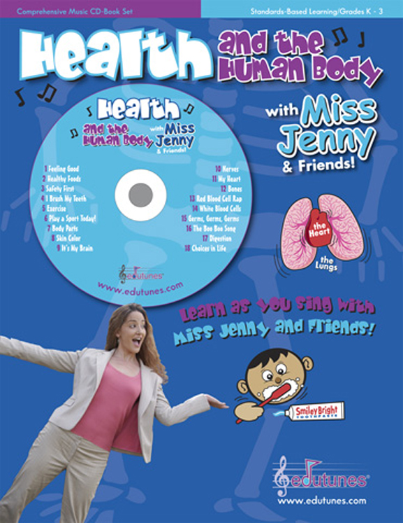 Edutunes Health and the Human Body Book & CD Set