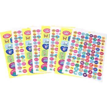 Spanish - Sticker Book