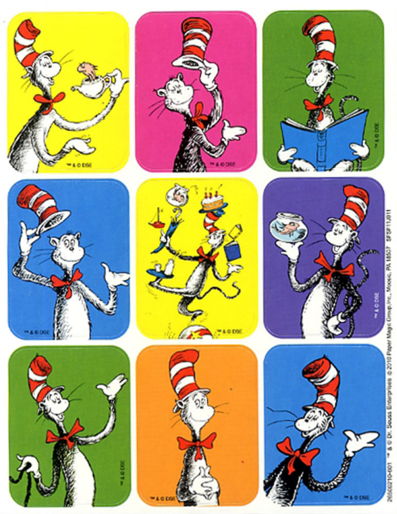 Cat in the Hat™ - Giant Stickers