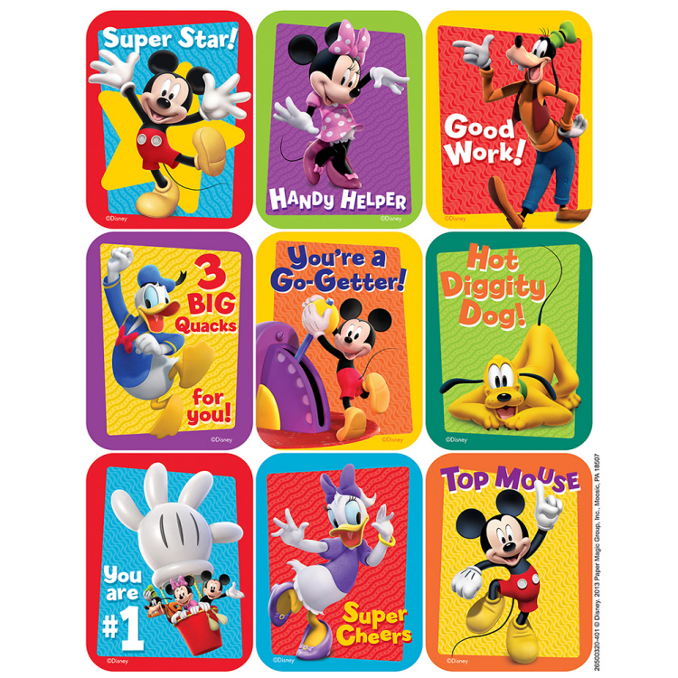 Mickey Mouse Clubhouse™ - Motivational Giant Stickers