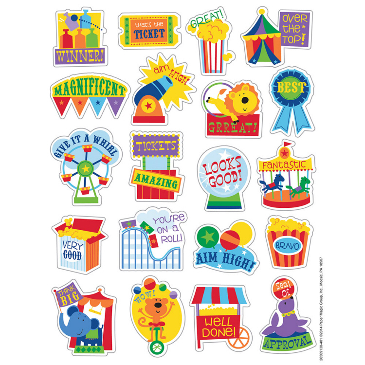Popcorn - Scented Stickers