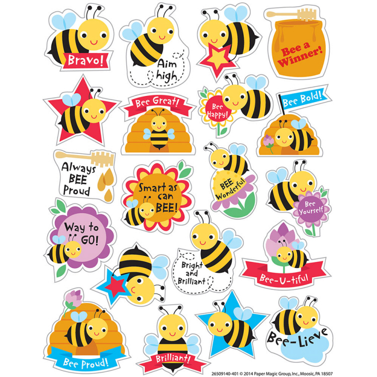 Honey - Scented Stickers