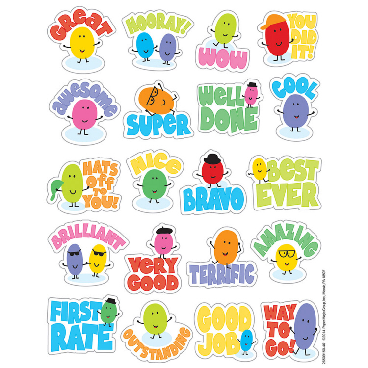Jelly Beans - Scented Stickers