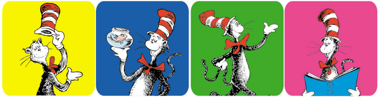 Cat in the Hat™ - Theme Stickers