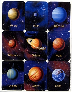 Planets - Giant Stickers